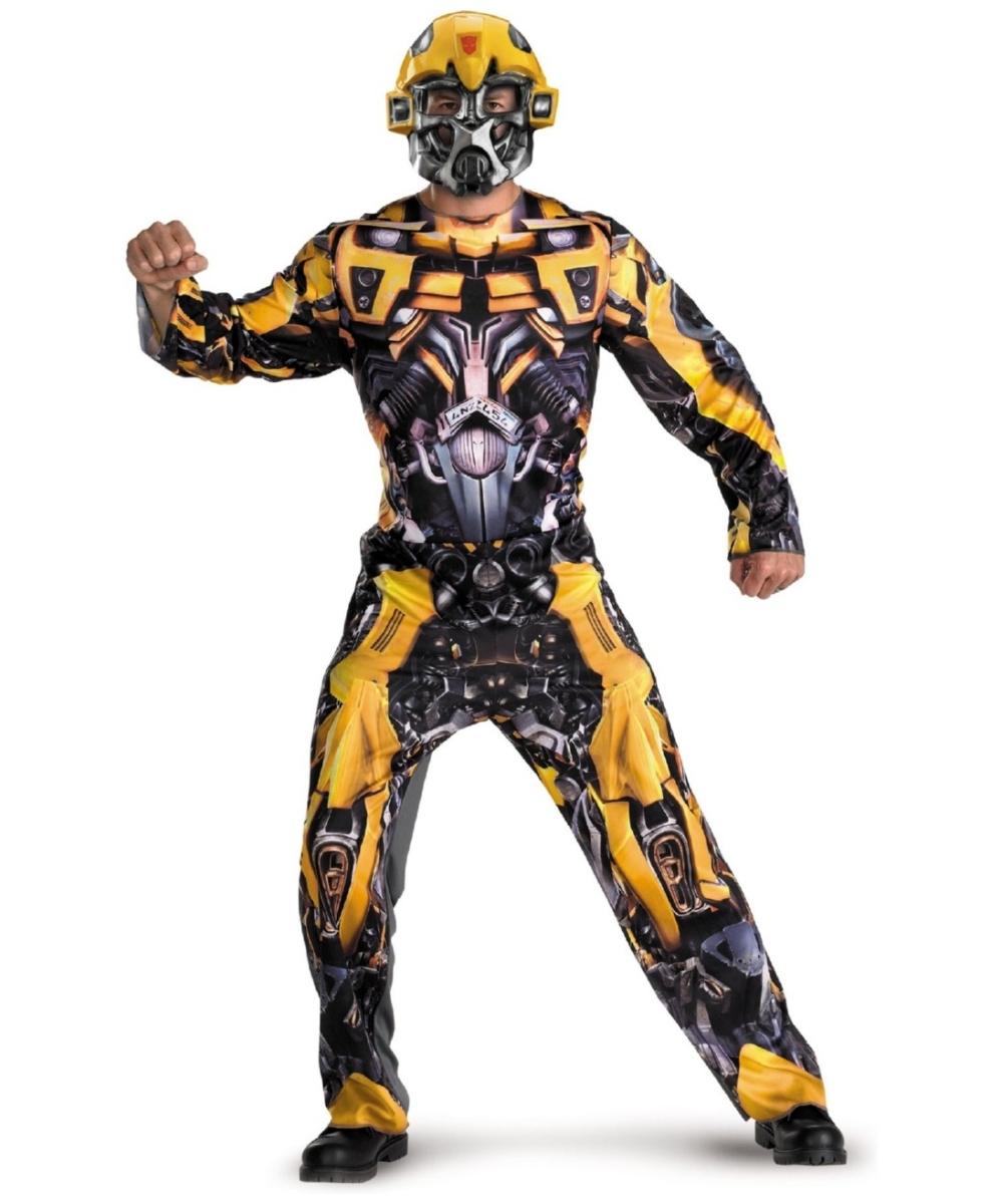 Transformers Bumblebee Halloween Costume Adults Adult Transformers Bumblebee