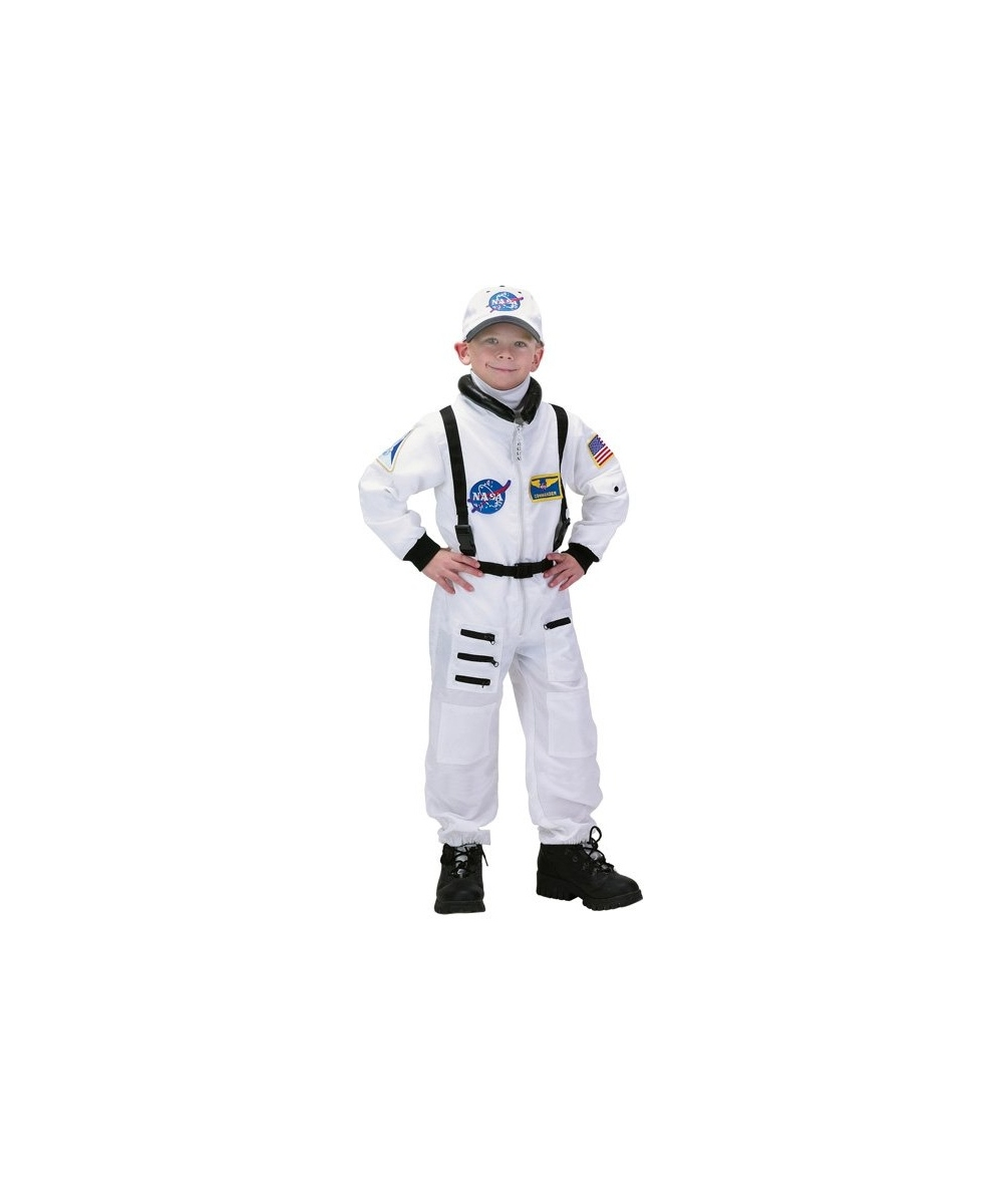 Boys Nasa Space Astronaut Costume