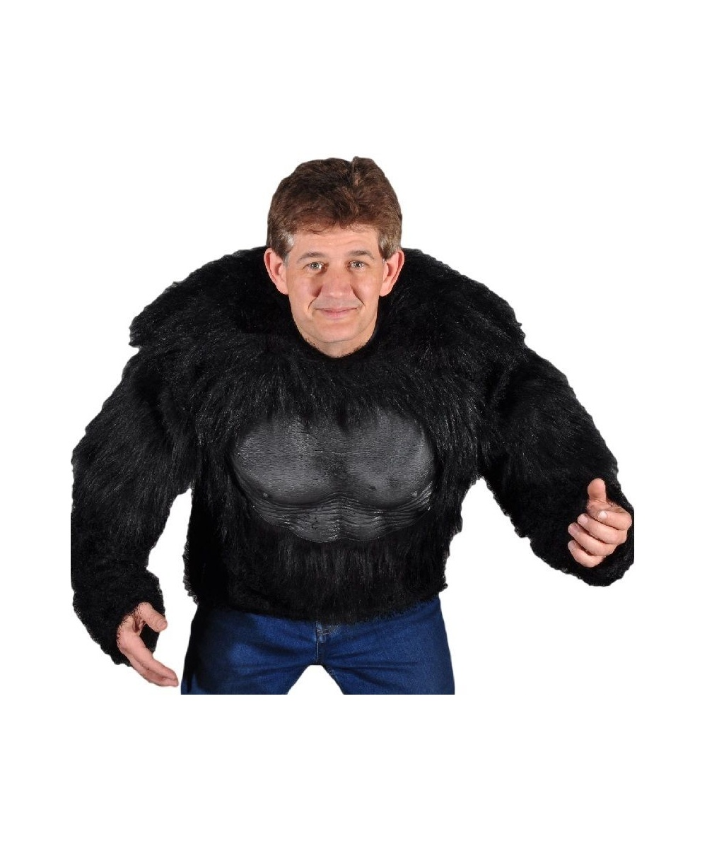 Adult Gorilla Shirt Men Halloween Costume