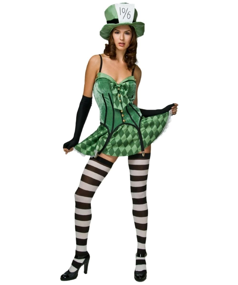 Adult Mad Hatter Disney Costume - Women Costumes