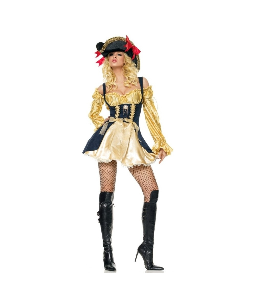 Marauders Wench Goldblack Costume