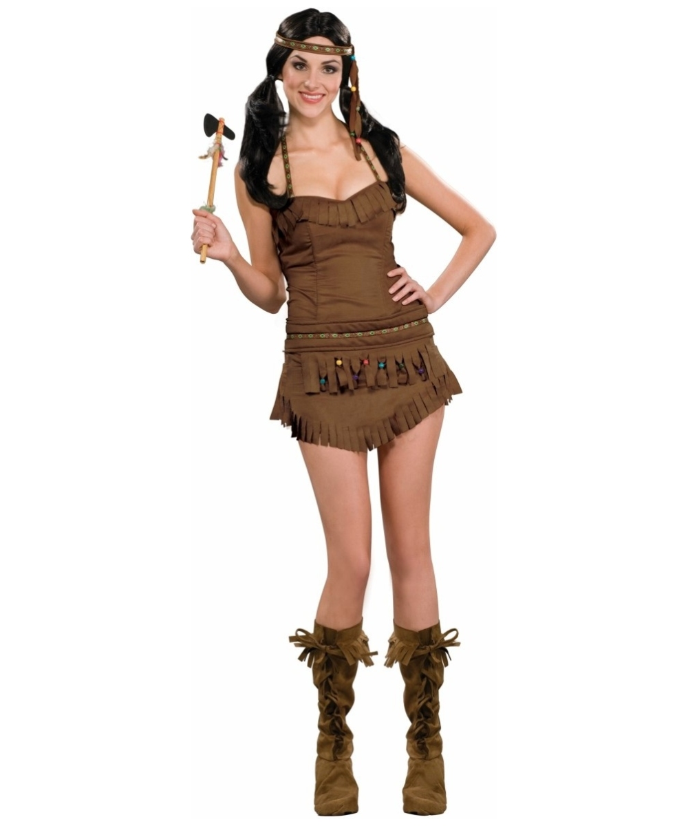 native american princess halloween womens costume - Halloween Native American Costumes