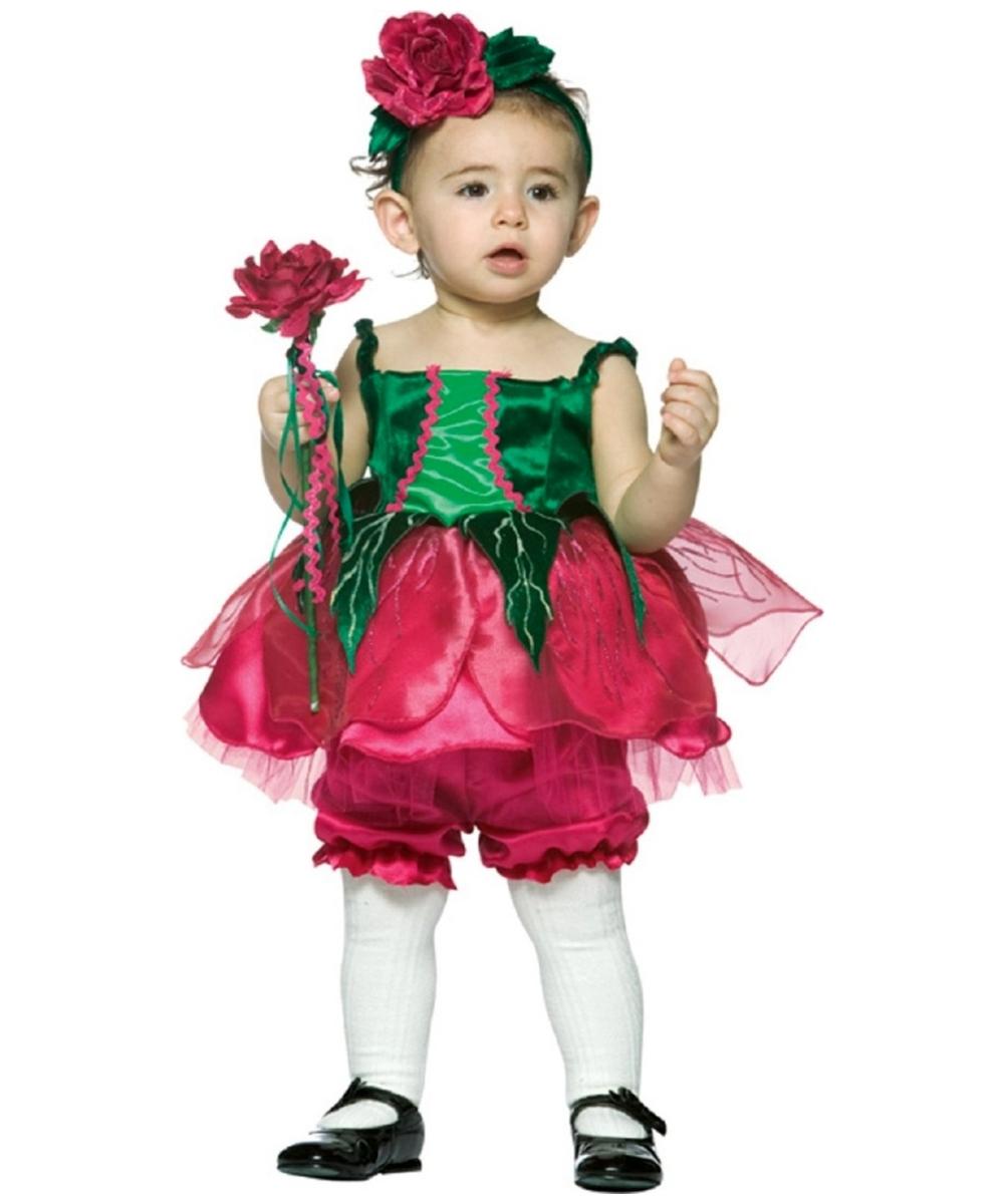 Prettiest Rose Costume Kids Fower Costumes