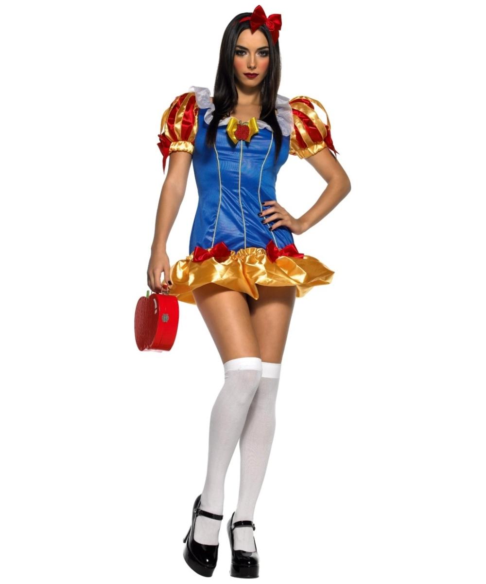 Snow Princess Costume Snow White Halloween Costumes