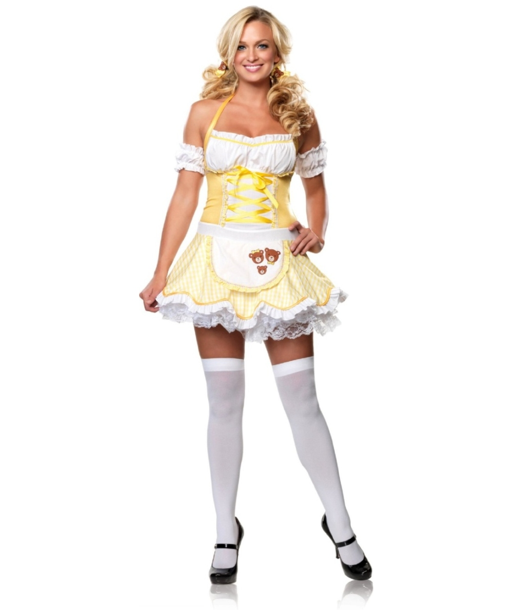 storybook goldilocks women costume - Goldilocks Halloween Costumes