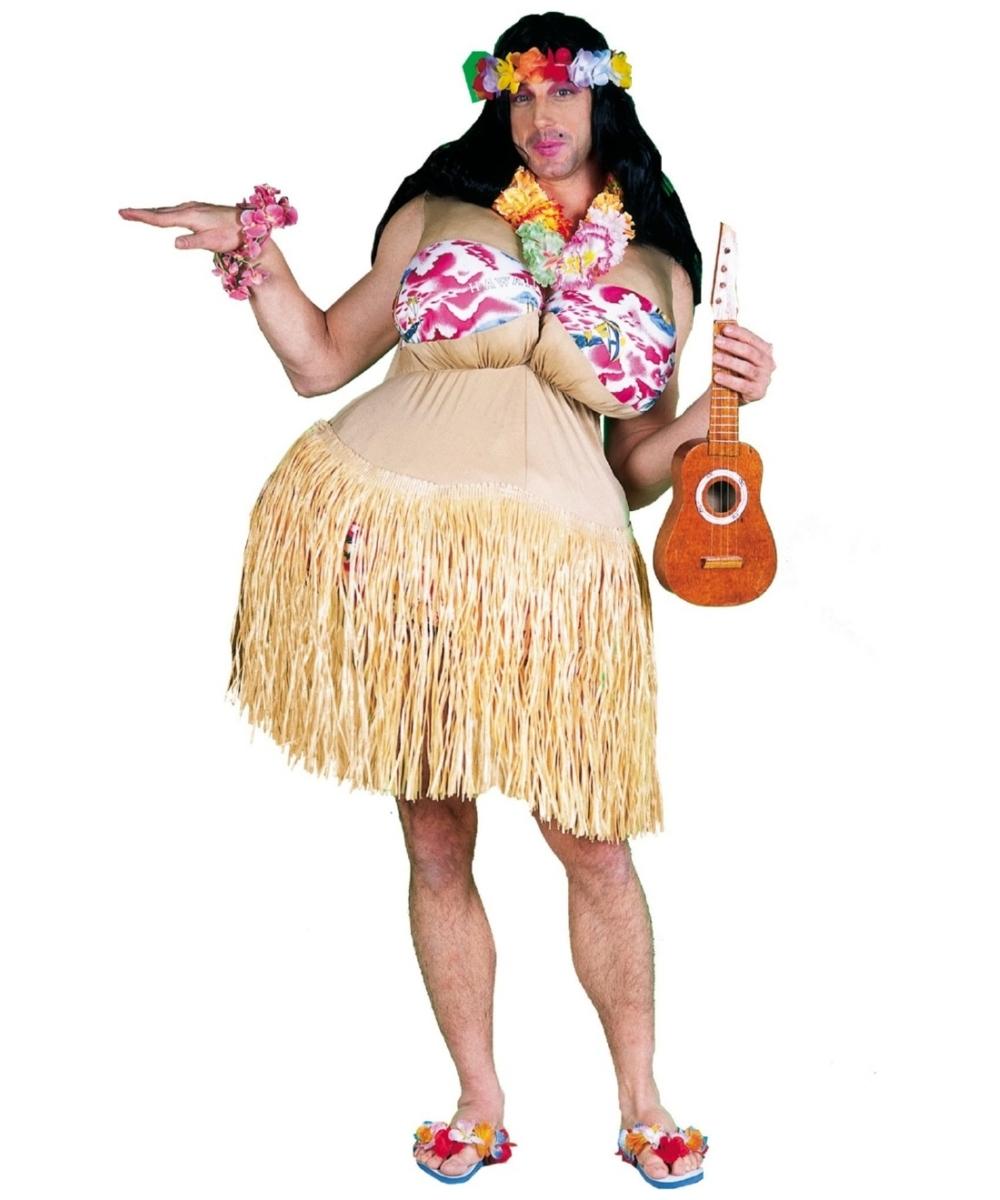 Гавайский наряд своими руками