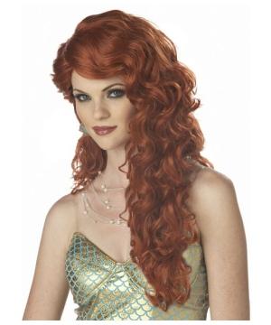 Auburn Mermaid Wig