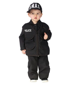Authentic Swat Baby Costume