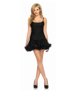 Black Dress Petticoat Costume