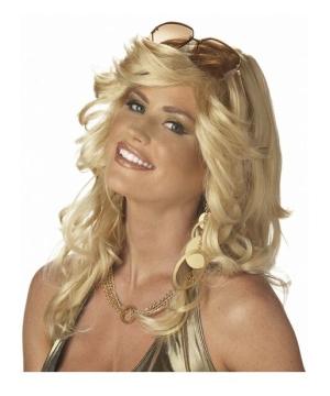 Blonde Discorama Mama Wig