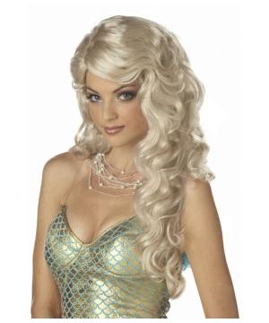 Blonde Mermaid Wig