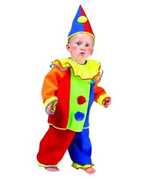 Boys Baby Bobo Clown Costume