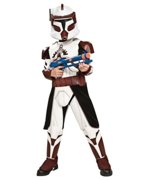 Star Wars Clone Wars Commander Fox Boys Costume deluxe