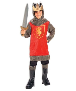 Boys King Crusader Costume