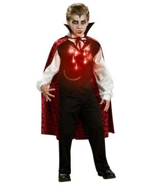 Boys Lite up Vampire Costume