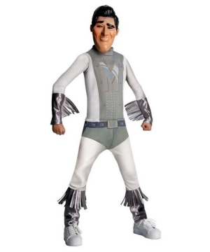 Boys Megamind Metro Man Costume