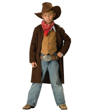 Boys Rawhide Renegade Costume