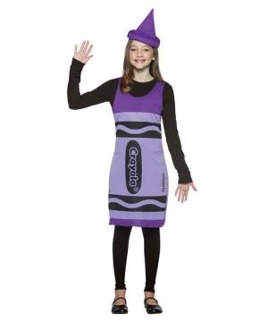 Crayola Crayon Wisteria Costume