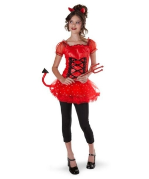 Darling Devil Girls Costume