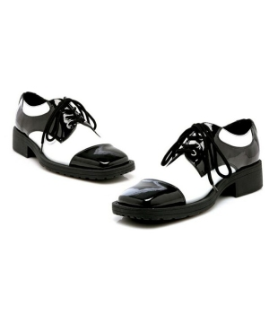 Fred Black White Shoes