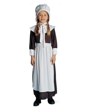 Girls American Colonial Costume