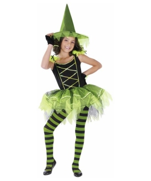Girls Ballerina Witch Costume