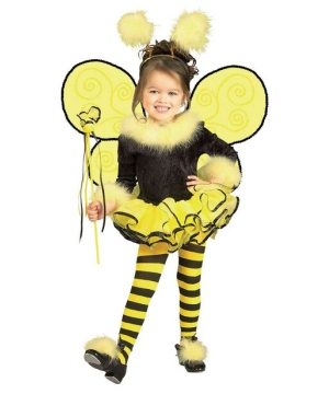 Girls Bumble Bee Costume