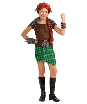 Girls Fiona Warrior Baby Costume