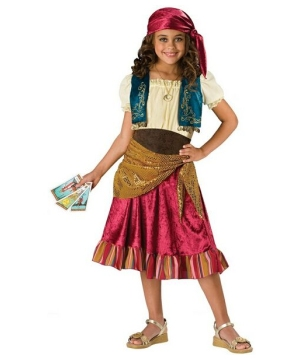 Girls Gypsy Kids Costume