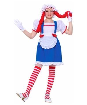 Rag Doll Beauty Girls Costume
