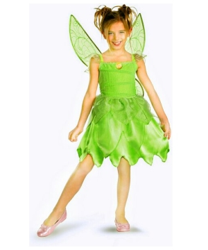 Girls Tinkerbell Disney Costume
