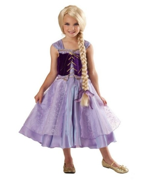 Girls Tower Princess Costume
