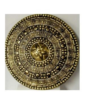 Gold Roman Shield Costume
