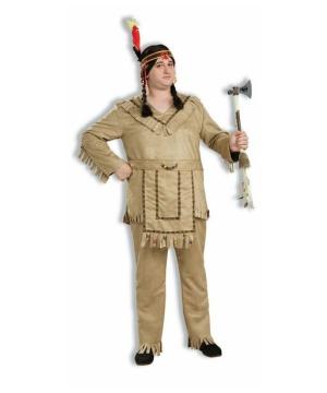 Mens Brave Halloween Costume plus size