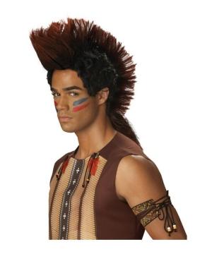Mens Indian Warrior Wig