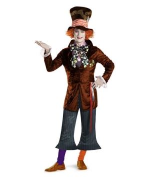 Mad Hatter Teen/ Men Costume Theatrical