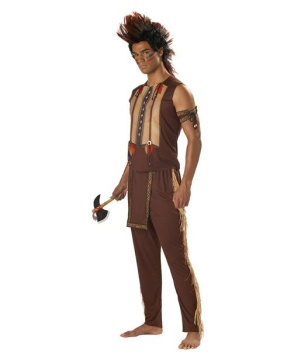 Mens Noble Warrior Indian Costume