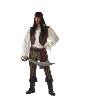 Mens Pirate Rogue Costume