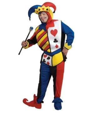 Mens Playing Card Joker Costume