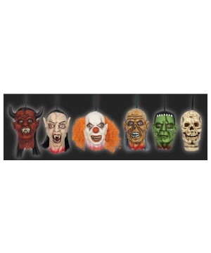 Mini Heads Halloween Decoration