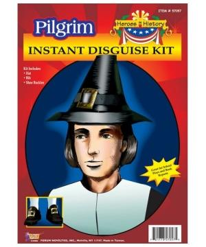 Pilgrim Man Costume Kit