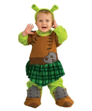 Princess Fiona Warrior Baby Costume