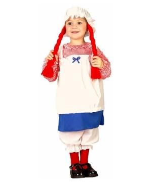 Little Rag Doll Baby Costume