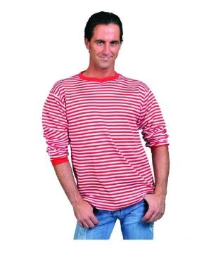 Red White Clown Shirt