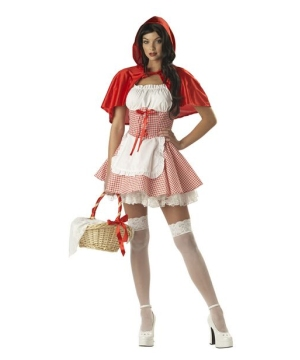 Miss Red Riding Hood Women's Costume