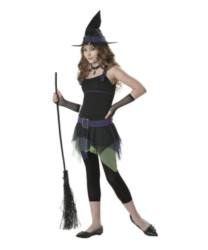 Sassy Witch Kids Costume