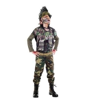 Sergeant Splatter Child Costume