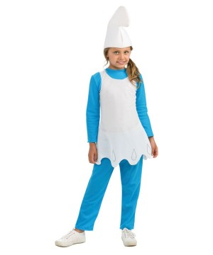 Smurfette Costume Child Costume