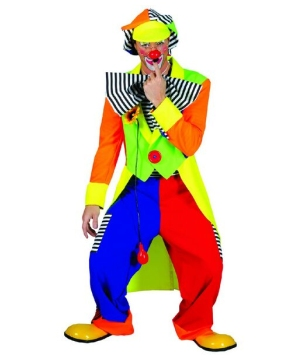 Spanky Stripes Clown Costume