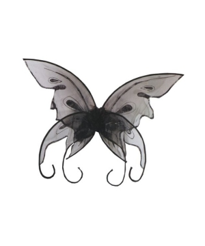 Wings Butterfly Black